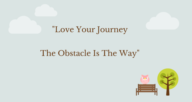 A letter to my obstacle